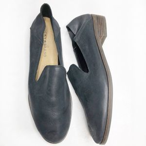 LUCKY BRAND Cahill Leather Loafers